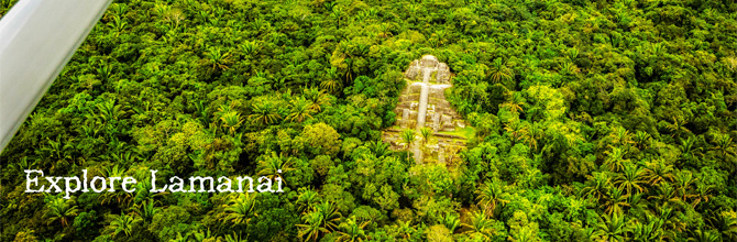 Belize City flights to Lamanai Mayan Ruins