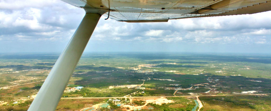 Belize City flights to Savannah Airstrip