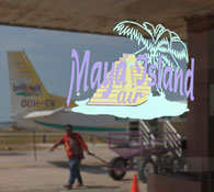 Maya Island Air local domestic flights in Belize